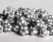 Soccer Ball Beads 60pc