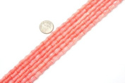 """5X9mm Pink Coral Beads Strand 15"""" Jewellery Making Beads"""