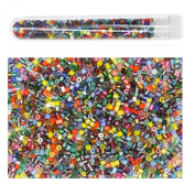Seed Beads Czech Glass Size 11/0 2 cut Mini Bugles Multi Mix Tube Assorted Colours and Finishes