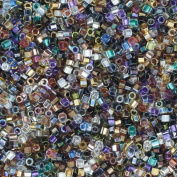 Miyuki Delica HEX Cut Glass Seed Beads 11/0 Colourful Super Mix ~ Made in Japan