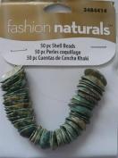 50 pc Shell Beads - Fashion Naturals #3484414