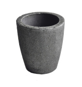 #1.5 2KG Foundry Clay Graphite Crucibles Cup Furnace Torch Melting Casting Refining Gold Silver Copper Brass Aluminium
