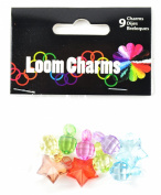 Touch of Nature Loom Band Charms for Jewellery, Beads, Assortment