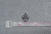 Fleur De Lis 8mm Slide Charm for Cutomized Charm Bracelets