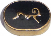 Aries Zodiac Floating Locket Charm