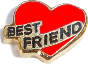 Best Friend Floating Locket Charm
