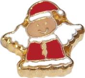 Christmas Angel Floating Locket Charm