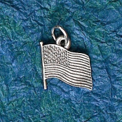 Hampshire Pewter - American Flag Charm