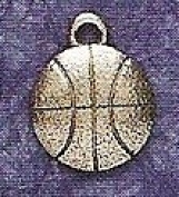 Hampshire Pewter - Basketball Charm