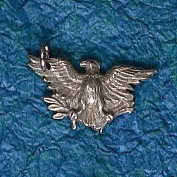 Hampshire Pewter - American Eagle Charm