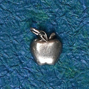 Hampshire Pewter - Apple for the Teacher Charm