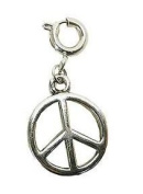 Koolcharmz Peace Sign Dangling Charm