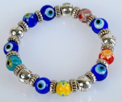 Murano Glass Evil Eye Bracelet