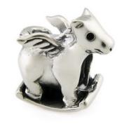 Ohm Rocking Pegasus European Bead
