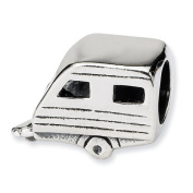 Sterling Silver Reflections SimStars Trailer Bead Charm - JewelryWeb