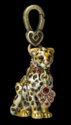 "Jay Strongwater Leopard Charm ""Mara"""