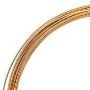 30ml (22 Ft) Gold Filled Wire 20 Gauge -Round-Half Hard