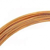 30ml (83 Ft) Gold Filled Wire 26 Gauge -Round-Half Hard