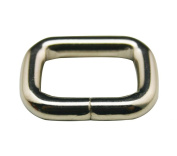 Generic Metal Silvery 2cm Inside Length Rectangle Buckle belt Buckle Handbag Buckle Luggage Accessories