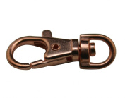 Metal Red Bronze Colour 3.2cm Lobster Clasps Buckle Connexion Buckle Hook For the Handbag Or Luggage Accessories