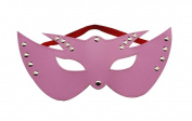 Generic PU Leather Female Pink Mask Eyeshade Blinkers Sex Toys Game Sexy Gifts Sexy Gifts For Wife Erotic Fun Supplies