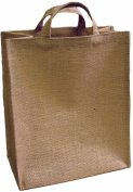 HomArt Jute Grocery Bag, Large, Plain