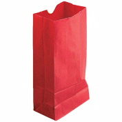 coloured CRAFT BAGS RED