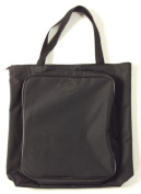 Tran Deluxe Artist Tote Bag with Pocket, Black