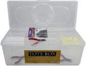 Large Storage Tote Box for Arts & Crafts Supplies