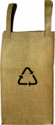 HomArt Utility Burlap Tote, Large, Recycle