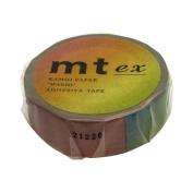Japanese Washi Masking Tape - Rainbow Ombre Pattern