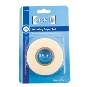 Stick it masking tape roll 18mm x 27m