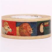 zoo animal mt Washi Masking Tape deco tape