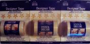 Stencil Tape Star Pattern