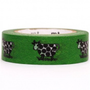 green cow mt Washi Masking Tape deco tape