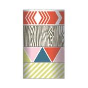 Cut & Paste Presh Decorative Tape 4 Rolls/Pkg-