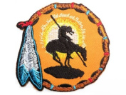 "DREAM CATCHER Navajo Native American Embroidered Iron On Motorcycle Patch 3""/7.5m x 3""/7.5cm By MNC Shop"