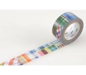 Japanese Washi Masking Tape - Patchwork
