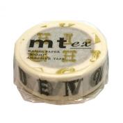 Masking tape mt ex Alphabet R black