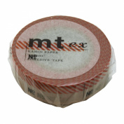 Masking tape mt ex Number red MTEX1P22