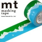 Japanese Washi Masking Tape - MT Mina Perhonen Mountain Sky Scenic