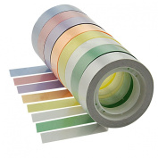 YazyCraft Multi-coloured Decorative Tape 8 rolls