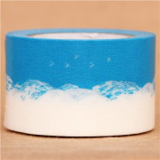 wide sky cloud mt Washi Masking Tape deco tape