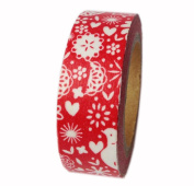 Set of 2 [Christmas Party] Tear-off Tape Masking Tape Washi Tape Handcraft MT