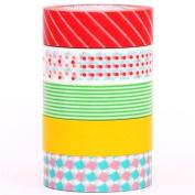 pop mt Washi Masking Tape deco tape set 5pcs box
