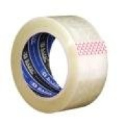 Bazic 5.1cm X 110 Yards Clear Packing Tape- Case of 36