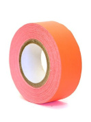 Pro Tapes Artists' Tape flourescent red/orange [PACK OF 12 ]