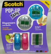 Scotch Pop-up Handband & DeskGrip Tape Dispensers Duo Pack With Refills
