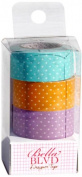 Bella Blvd Polka Dot Combo Washi Designer Paper Tape
