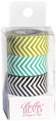 Bella Blvd Chevron Combo Washi Designer Paper Tape